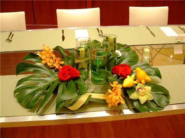 centre de table mariage exotique centre de table en longue flickr. Black Bedroom Furniture Sets. Home Design Ideas