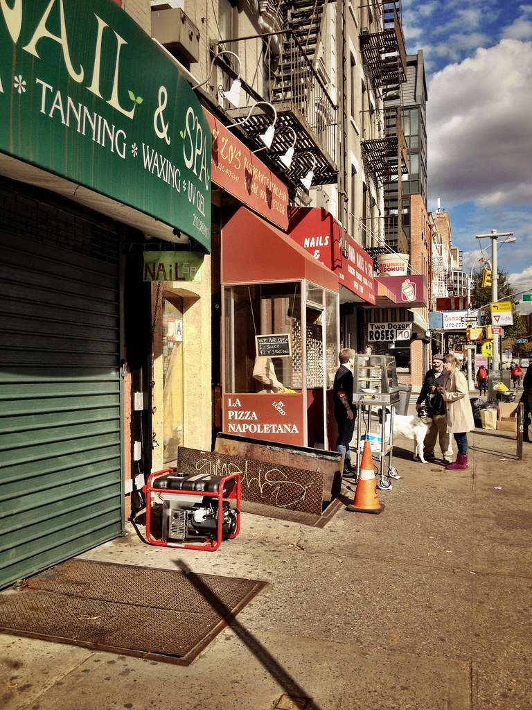 Generator Pizza - After Sandy - New York City   An enterpris