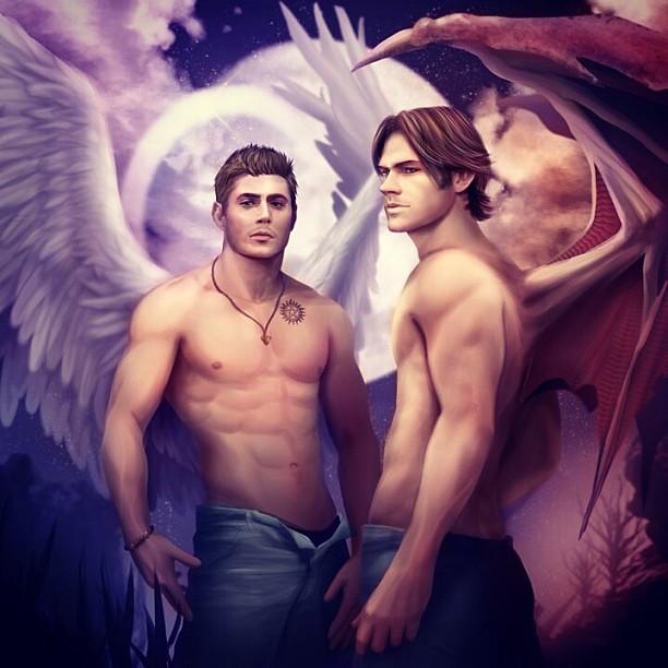 ангел и демон порно фото