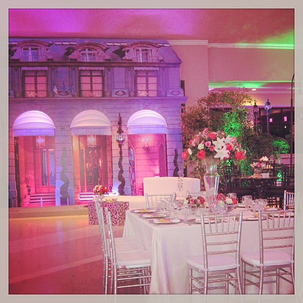 Decoracion Quincea?eras Paris ~ fiesta#Hotel Ritz Paris#15 a?os#florenzza#decor  Florenzza Event
