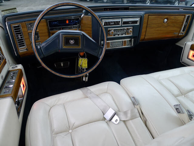 1985 Cadillac Fleetwood Brougham  Note the added digital sp  Flickr