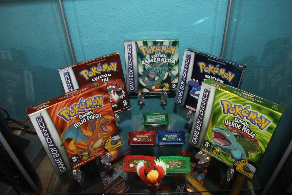 Todos Los Juegos Pokemon De Gba Pokemon Hispania Flickr