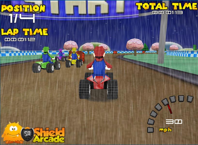 3doyunlarcom 3d Mario Motor Yarışı 2 Www3doyunlarco Flickr