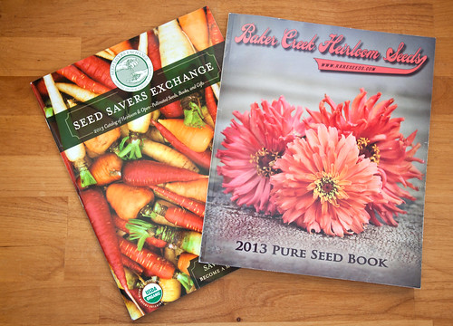 Seed Catalogs | by GardenBluesPhotography