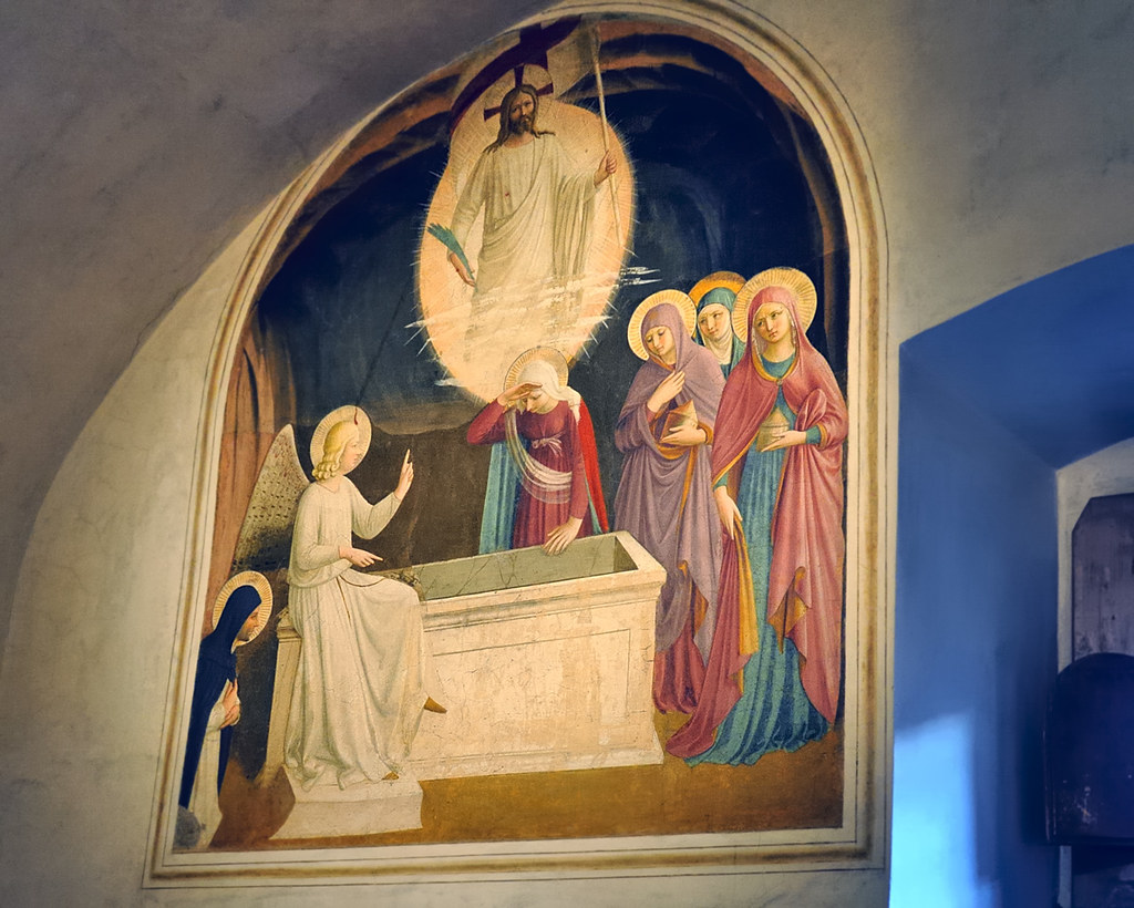 Resurrection and Women at the Tomb\', Fra Angelico, fresco… | Flickr