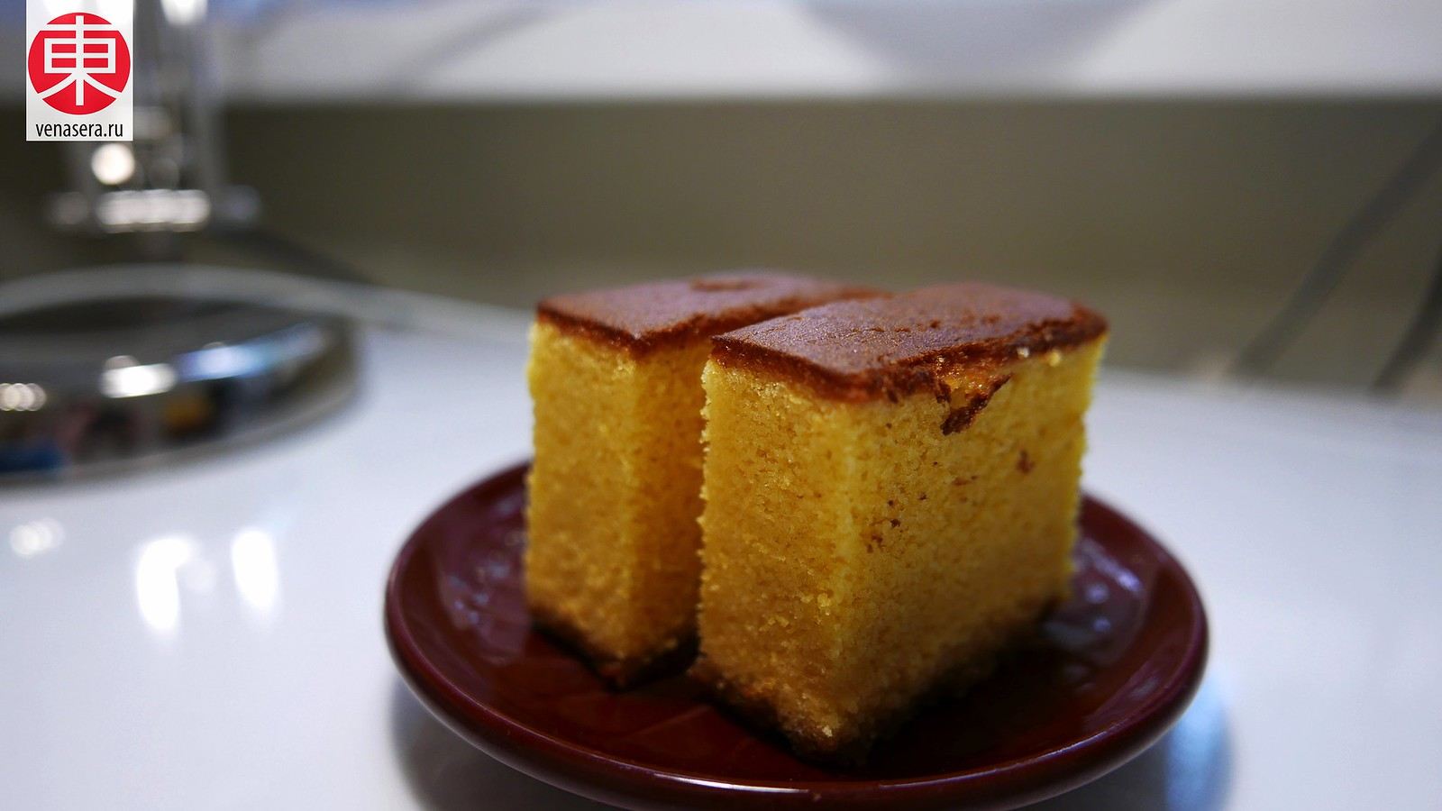 Кастелла японский медовый бисквит фото выпечки пошагово