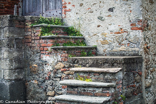 Old steps in Airale Superiore, Italy | by canadian_photography