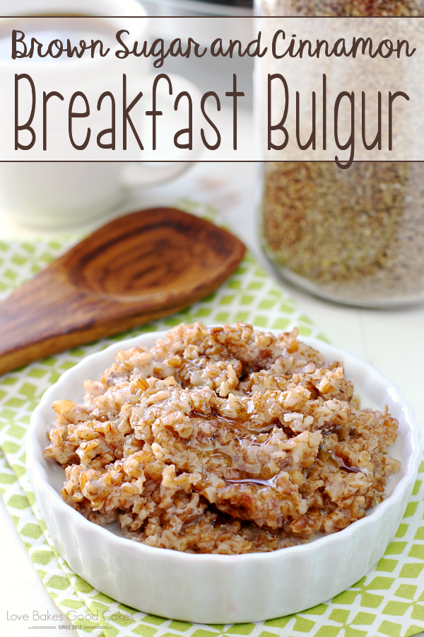 Get out your rice cooker and make this Brown Sugar and Cinnamon Breakfast Bulgur recipe! It's so simple and perfect for these cooler mornings! AD #hamiltonbeachricecooker @hamiltonbeach @amazon