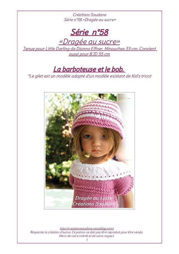 Free Knitting Pattern Tea Cosy : Only in french knitting pattern for Little Darling Flickr