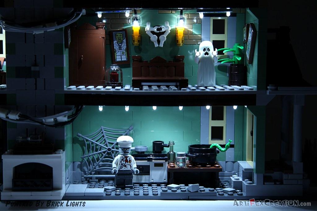 5 Haunted House Bedroom Kitchen