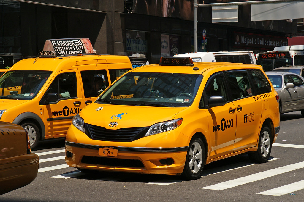 Nyc Taxi Toyota Sienna New York City Taxi Ray Kippig