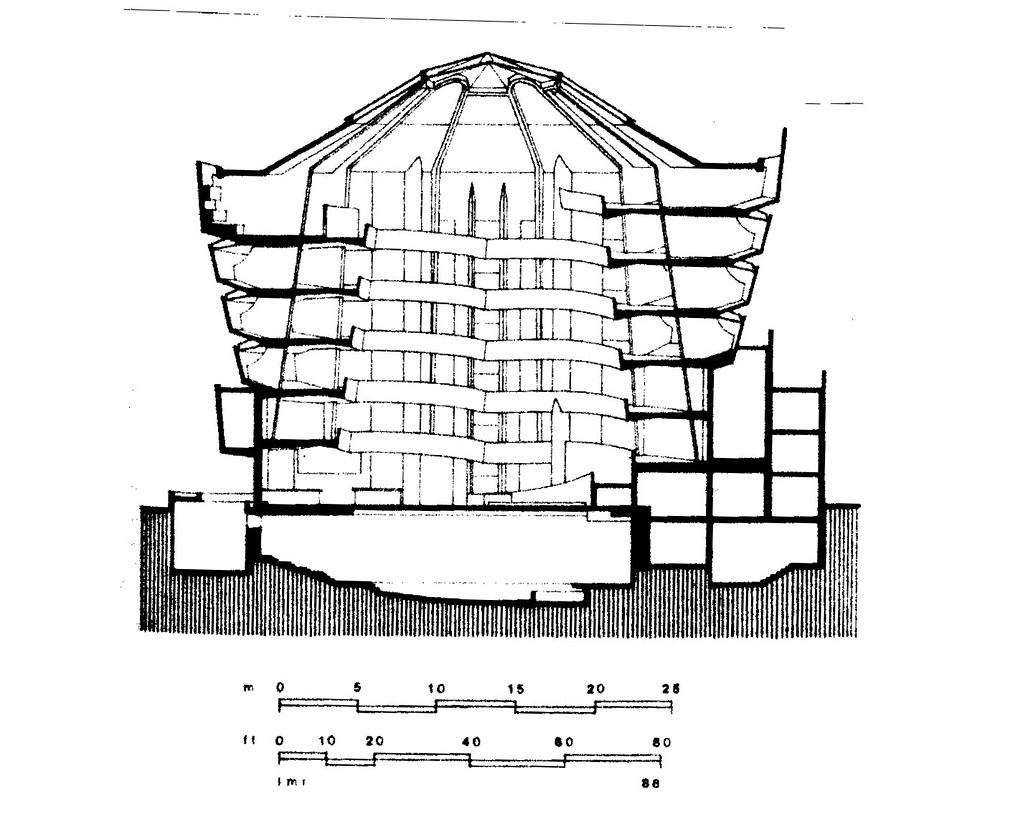 Guggenheim Museum Bilbao Floor Plan Guggenheim Museum Section Www Pixshark Com Images