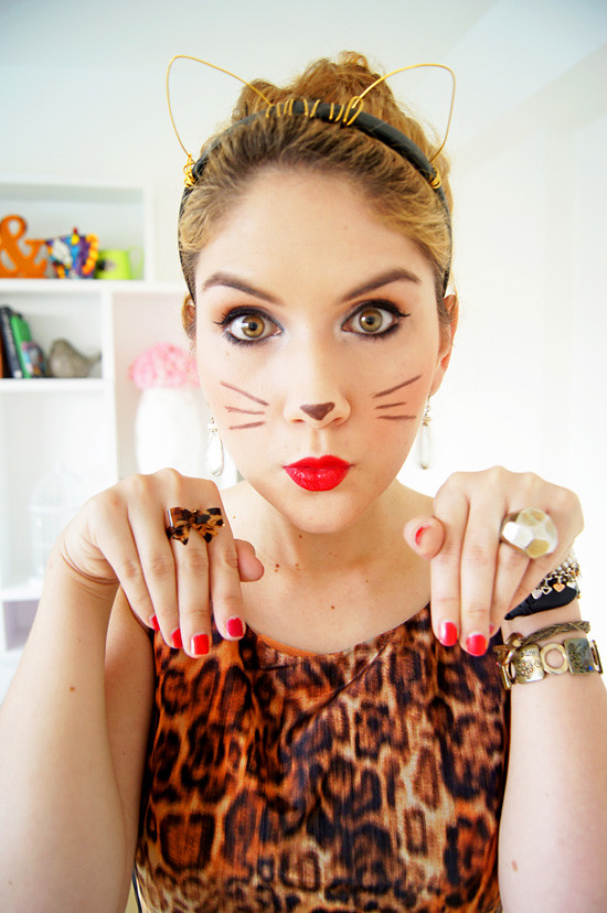 Kitty Cat Halloween Costume | Diy Halloween Costume Leopard Kitty Cat More At Www The Flickr