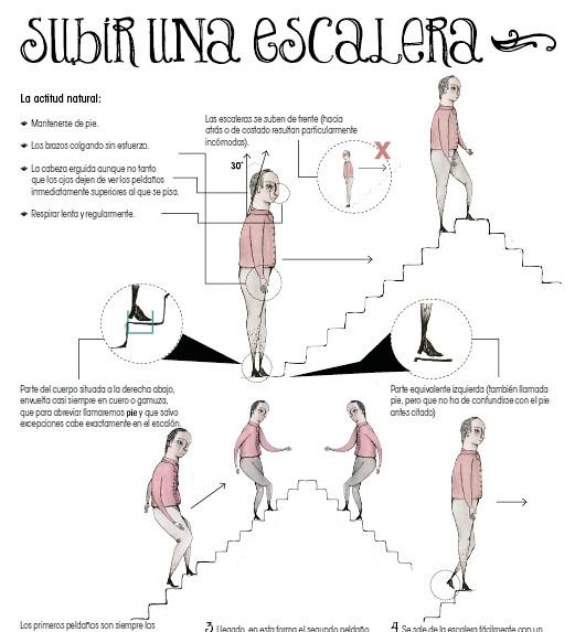 Instrucciones para subir escaleras fragmento sofia - Imagenes de pasamanos para escaleras ...