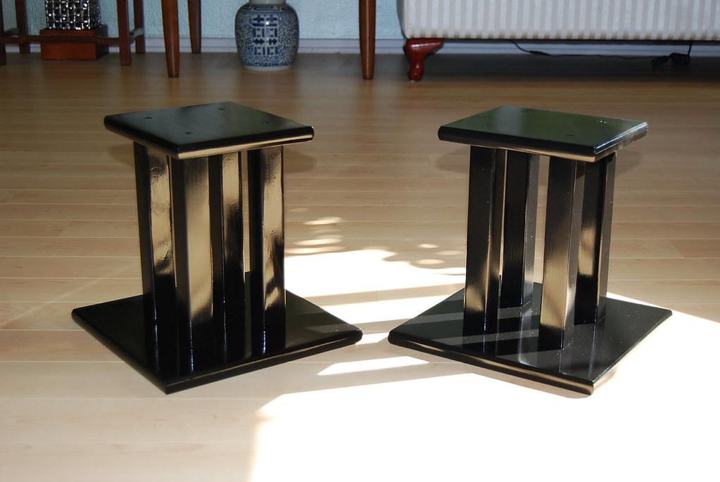 Handcrafted Wooden Speaker Stands Display Pedestals Http