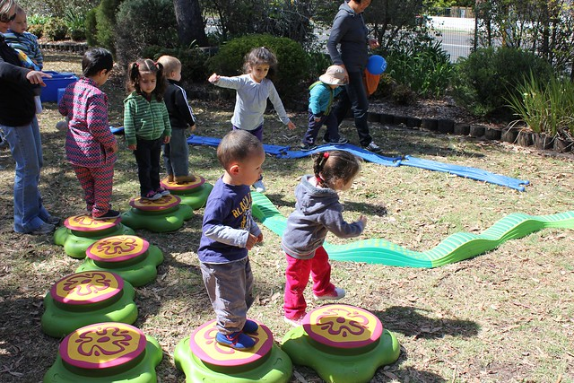 Outside Toys For Day Care : New outdoor toys for preschool library programs flickr
