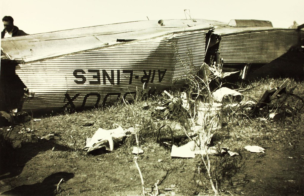 San Diego Ford >> Aircraft Accident Maddux Ford Trimotor | Catalog #: 10_00131… | Flickr