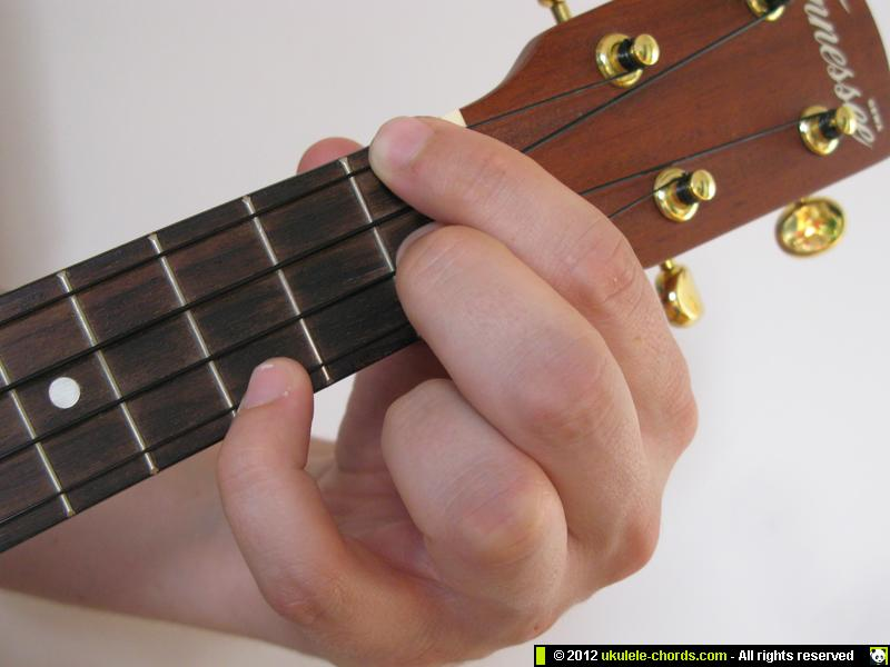 Fm ukulele chord | How to play a Fm on the soprano. For alte… | Flickr