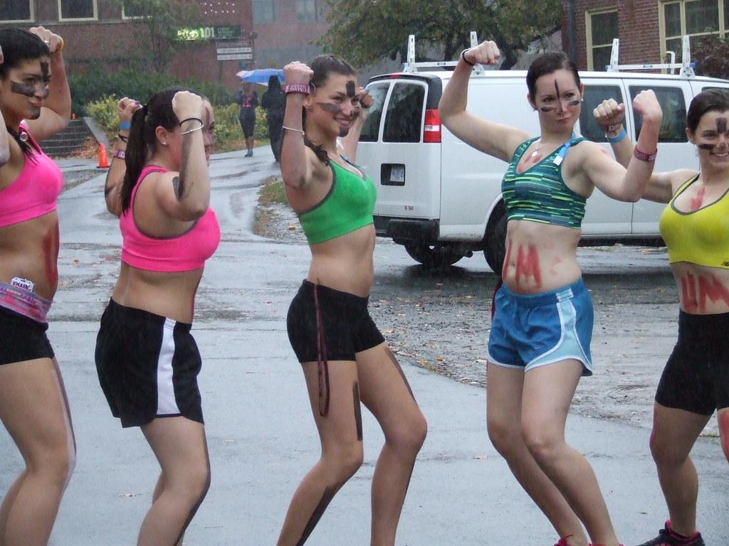 naked mile girls naked