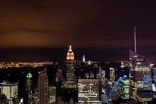Hurricane Sandy's blackout, as seen from the Top of the Rock | by Dan Nguyen @ New York City