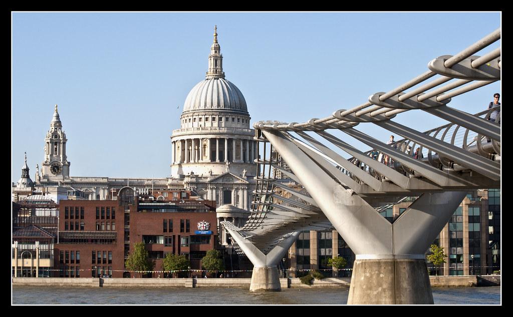 2345-CATEDRAL DE SAN PABLO Y PUENTE DEL MILENIO (Londres) | Flickr