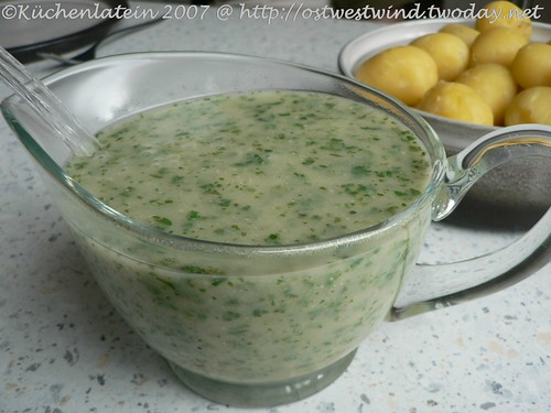 how to make white parsley sauce