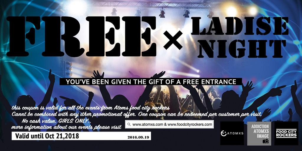 coupon ladise night