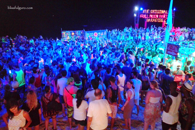 Full Moon Party Koh Pangan Thailand