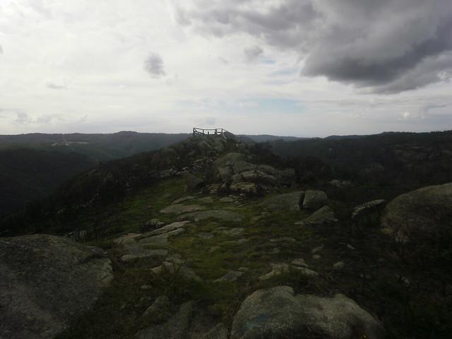 Mirador de Teixido en la Ruta por el Cañón del Eume