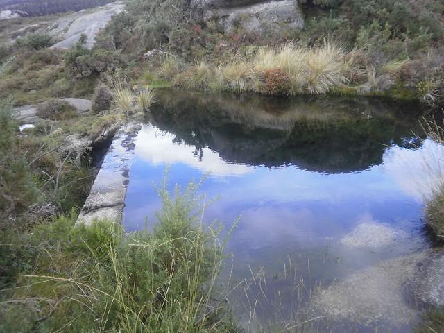Pequeña Presa en la Ruta por el Cañón del Eume