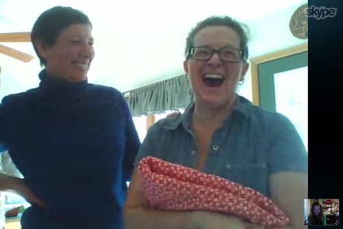 Quilt presentation: via Skype! | by verykerryberry