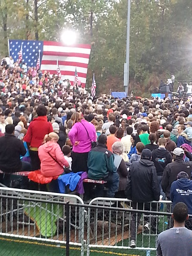 Obama campaign rally | by robpegoraro