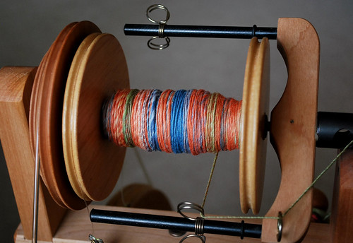 spinning merino top | by Herb Knitter