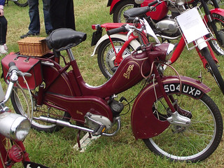 Old Fashioned Moped