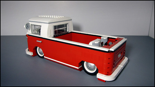 Custom 1962 Vw Lowrider Truck Highly Modified Lego Model
