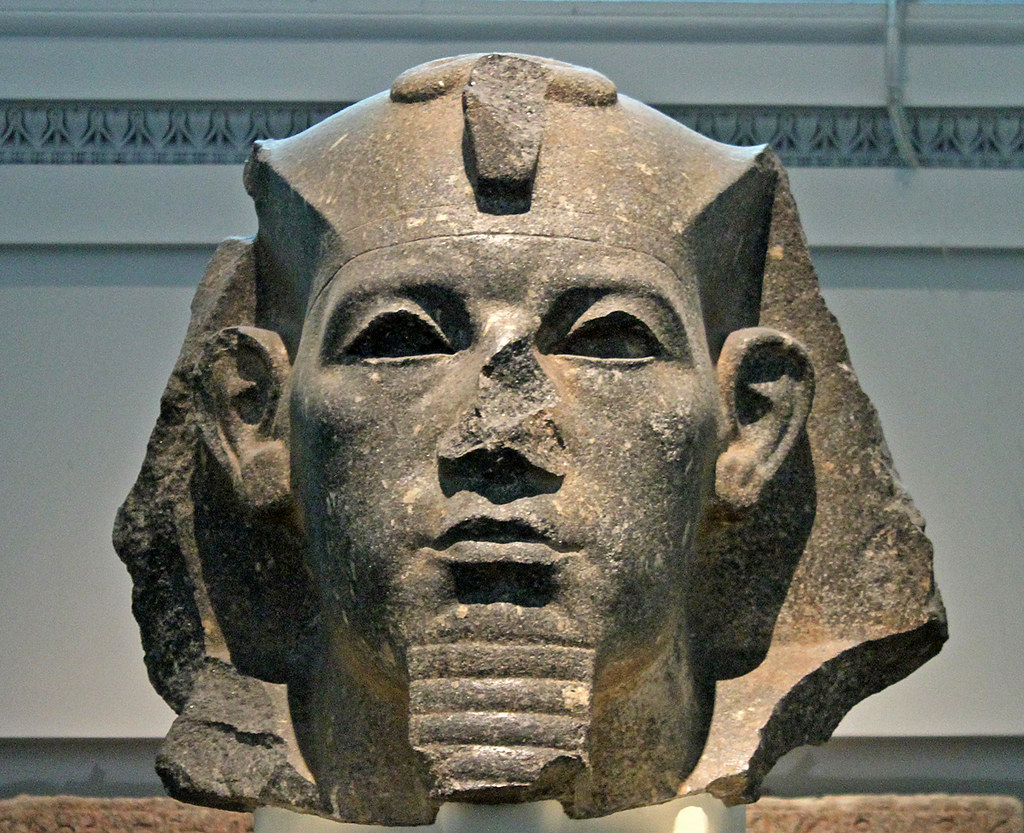 King Amenemhat Iii Head From A Colossal Statue Of King