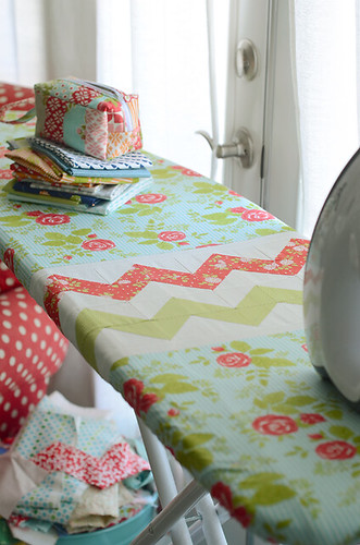 Cotton way ironing board cover | by croskelley