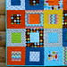 Owls Rainbow Remix Baby Quilt