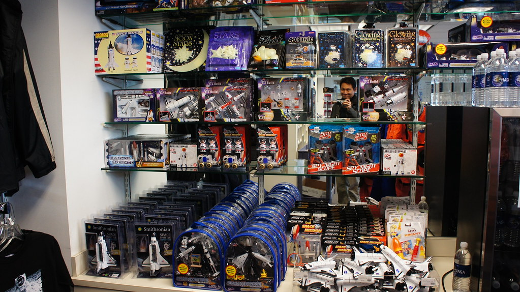 NASA HQ Gift Shop | I am hidden somewhere in this picture ...