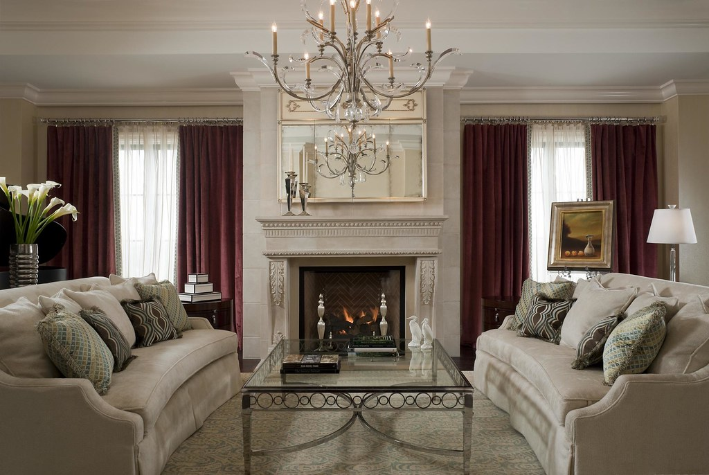 Living Room Suits : The St. Regis Atlanta—Empire Suite Living Room  Empire ...