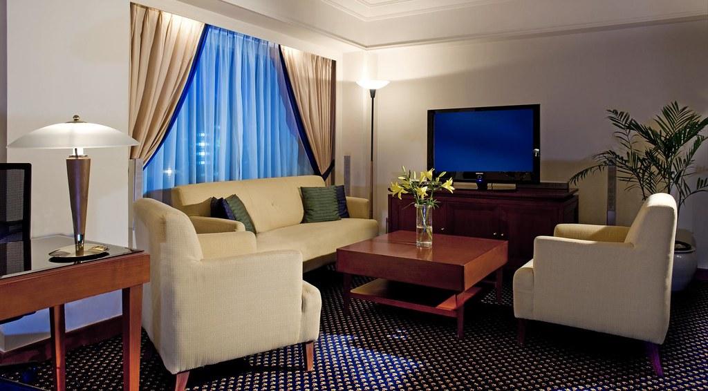 Le Meridien Jakarta—Living room of Diplomatic Royal Suite | Flickr