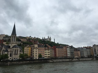 City of Lyon along the Saône River | by Kate Wirth
