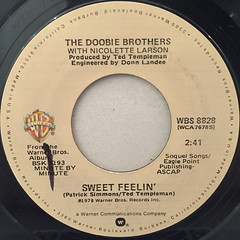 THE DOOBIE BROTHERS:MINUTE BY MINUTE(LABEL SIDE-B)