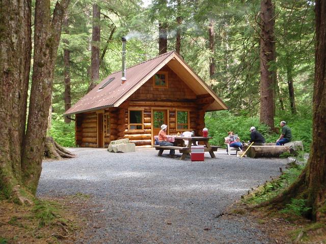 Starrigavan creek cabin flickr photo sharing for National forest service cabins