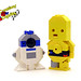R2 and 3PO Charity Characters