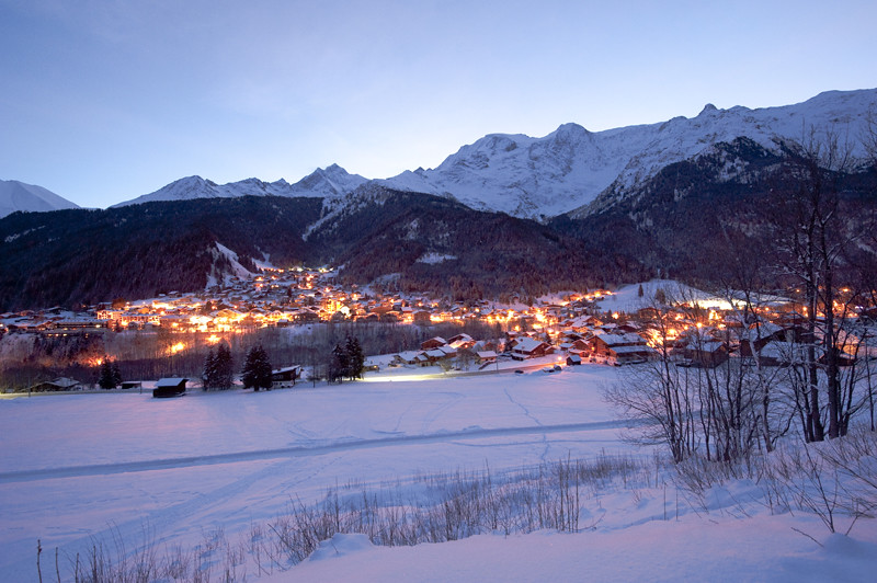 Les contamines massif du mont blanc c gilles lansard - Office du tourisme les contamines montjoie 74 ...