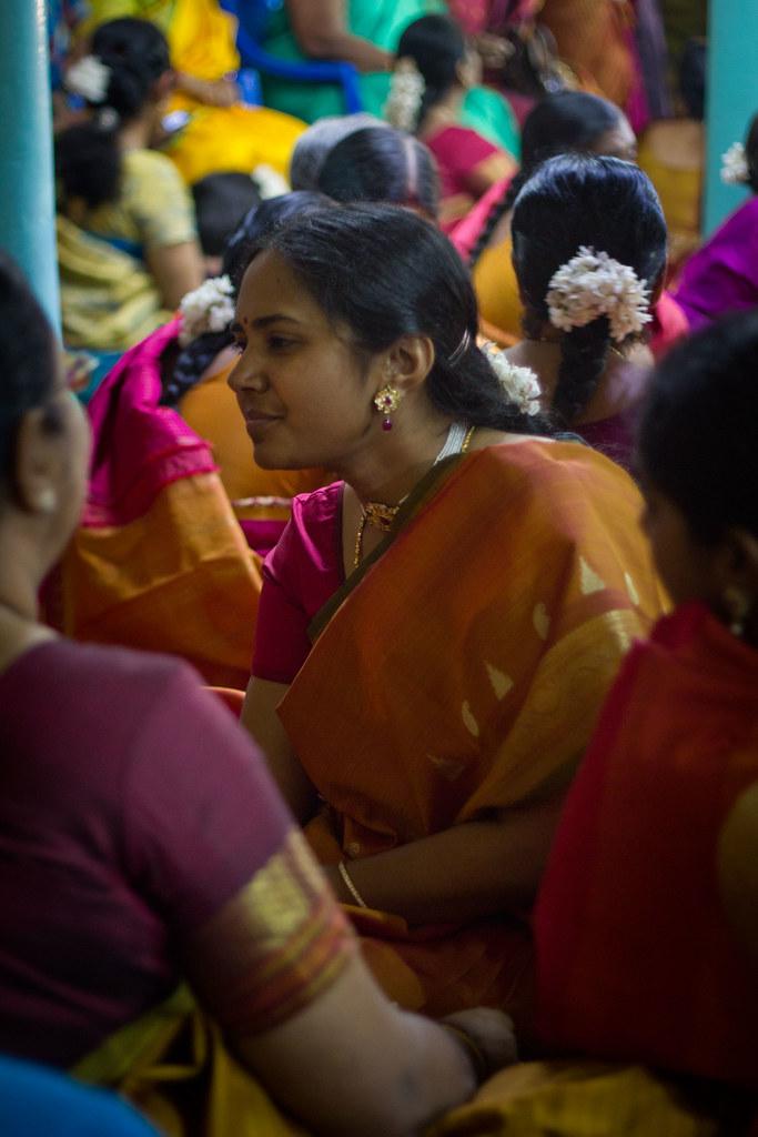 Aunties  Shan  Muthus Wedding Chettinad, Tamil Nadu -9719