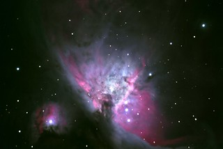 M42 october2012 8,25min Iso 400 | by Astro-Tanja