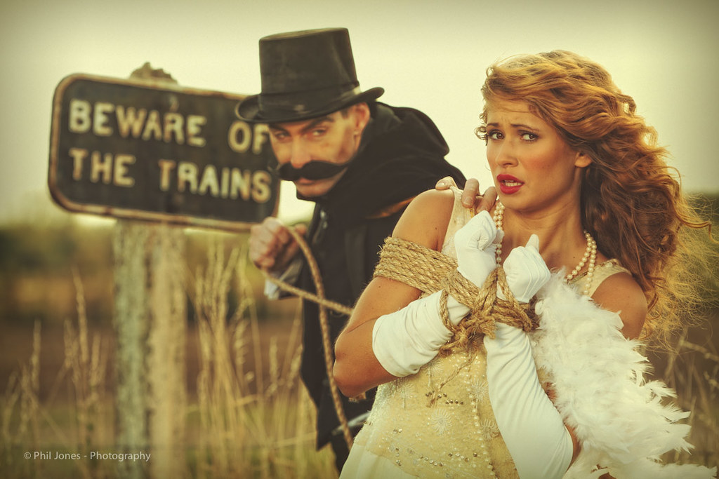 The Train Journey - Damsel in Distress by