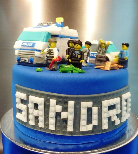 Images Of A Police Birthday Cake